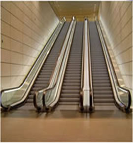 ESCALATORS AND MOVING WALKWAYS